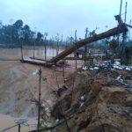 Madre de Dios: Incautan equipo usado para minería ilegal en «La Pampa»