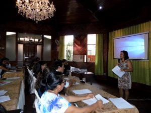 Madre de Dios: Realizan taller sobre la trata de personas