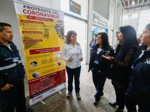 Cusco: Supervisan acciones de control ante riesgos de coronavirus