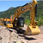 Aceleran trabajos de reforzamiento de defensa ribereña en el distrito Perené