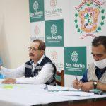 San Martín: Divulgan acciones de prevención contra el coronavirus
