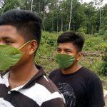 Coronavirus: nativos usan hojas de bijao para protegerse del Covid-19