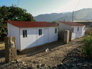 MVCS envía cien módulos temporales de vivienda a zonas de emergencia