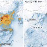 China: Niveles de contaminación disminuyen por el Covid-19