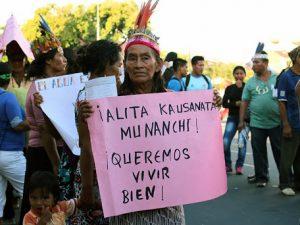 Comunidades indígenas piden apoyo internacional ante el Covid-19