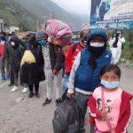 Más de 15 mil personas se inscriben para traslado humanitario hacia Lima