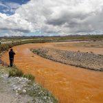 Supervisan denuncia sobre coloración amarilla del río San Juan en Pasco
