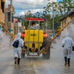 Apurímac: San Jerónimo realiza desinfección de calles y lugares públicos