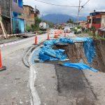 Amazonas: Avanzan labores para restablecer el tránsito en el sector La Esperanza