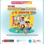 Publican guía para cuidar de niñas, niños y adolescentes durante la cuarentena