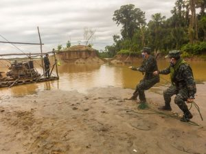 Madre de Dios: Intervienen equipos usados para minería ilegal en el distrito de Laberinto
