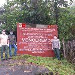 Guardaparques vigilan el Bosque de Protección Alto Mayo durante cuarentena