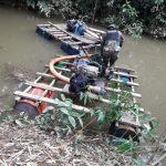 Madre de Dios: Intervienen equipos de minería ilegal en el río Pariamanu