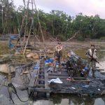 Madre de Dios: Destruyen campamentos de minería ilegal en el sector Santa Rita Alta