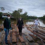 Loreto: Inmovilizan madera presuntamente ilegal en la Comunidad de Cahuide