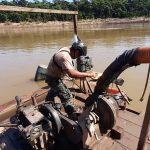 Madre de Dios: Incautan equipos usados por mineros ilegales en el río Tambopata