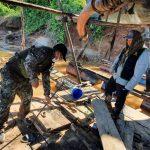 Megaoperativo contra minería ilegal en la zona de Amortiguamiento de la RN de Tambopata