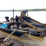 Madre de Dios: Realizan operativo contra la minería ilegal en Tres Islas