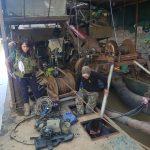 Madre de Dios: Intervienen dragas de minería ilegal en Laberinto