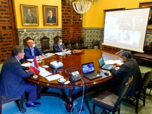 Colombia y Perú crearon Comité Binacional para frenar COVID-19 en la frontera