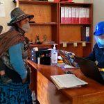 Brindan orientación sobre pago del bono rural en Tambos del Midis