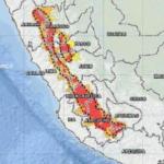 Bajas temperaturas para 128 distritos de la sierra norte y centro