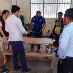 Ucayali: Internos del penal de Pucallpa elaboran inmobiliario con maderas decomisadas