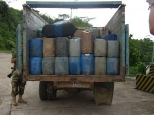 Mafias del narcotráfico ya tienen insumos para reemplazar al kerosene